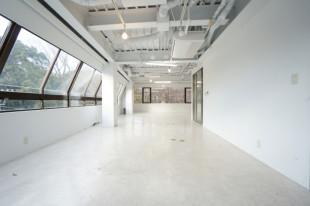 植物園の緑をインテリアにする純白のオフィス空間