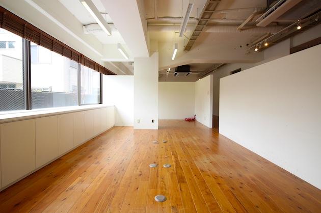 南青山骨董通りそば。希少な無垢床ワンフロアオフィス。