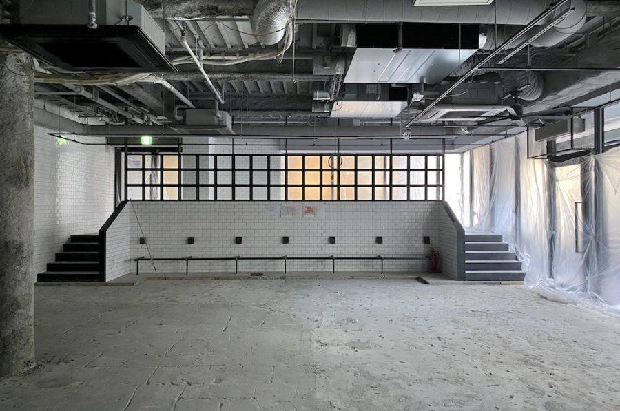 表参道、天井高3.9mの居抜き空間で新たな展開を<p>[渋谷区/¥ASK/157㎡]